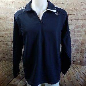 4/$25 Adidas 1/4 zip pullover Shirt